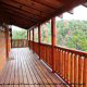 Deck View of Cabin 816 (Almost Paradise) at Eagles Ridge Resort at Pigeon Forge, Tennessee.