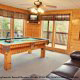 Game Room View of Cabin 816 (Almost Paradise) at Eagles Ridge Resort at Pigeon Forge, Tennessee.