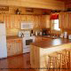Kitchen View of Cabin 817 (Tranquility) at Eagles Ridge Resort at Pigeon Forge, Tennessee.