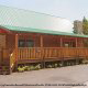 Outside front view of cabin 821 (Tranquil Times) at Eagles Ridge Resort at Pigeon Forge, Tennessee.