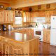 Kitchen View of Cabin 850 (Simply The Best) at Eagles Ridge Resort at Pigeon Forge, Tennessee.