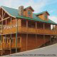 Outside View of Cabin 850 (Simply The Best) at Eagles Ridge Resort at Pigeon Forge, Tennessee.