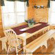 Large dining room in cabin 853 (Beary Cozy) at Eagles Ridge Resort at Pigeon Forge, Tennessee.