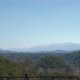 Beautiful mountain from cabin 854 (The Wagon Wheel Lodge) at Eagles Ridge Resort at Pigeon Forge, Tennessee.