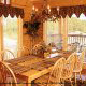 Country kitchen in cabin 856 (Eagles Pointe) , in Pigeon Forge, Tennessee.