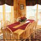 Dining Room View of Cabin 858 (Eagles On A High) at Eagles Ridge Resort at Pigeon Forge, Tennessee.