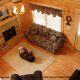 Great Room View of Cabin 865 (Bearway To Heaven 2) at Eagles Ridge Resort at Pigeon Forge, Tennessee.