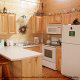 Kitchen View of Cabin 865 (Bearway To Heaven 2) at Eagles Ridge Resort at Pigeon Forge, Tennessee.