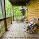 Enjoy nature at it best from your porch in cabin 88 (Mountain Magic), in Pigeon Forge, Tennessee.