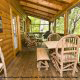 Play a game on your porch in cabin 88 (Mountain Magic), in Pigeon Forge, Tennessee.
