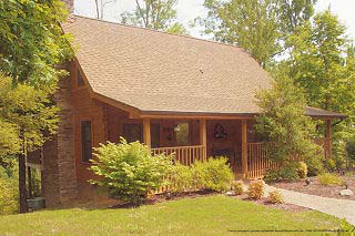 803 pigeon forge 6 day 5 night timeshare 3 bedroom cabin for Eagles ridge log cabin