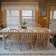 Fully Furnished Dining Room View of Cabin 92 (Virginias Villa) at Eagles Ridge Resort at Pigeon Forge, Tennessee.