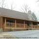 Outside View of Cabin 92 (Virginias Villa) at Eagles Ridge Resort at Pigeon Forge, Tennessee.