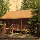 Outside View of Cabin 93 (Pirates Cove) at Eagles Ridge Resort at Pigeon Forge, Tennessee.