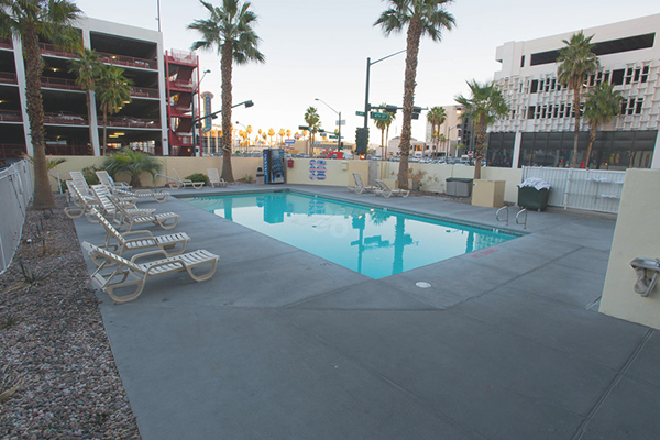 The D Las Vegas Pool