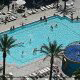 Take a break from the Vegas Strip to enjoy the large pool.