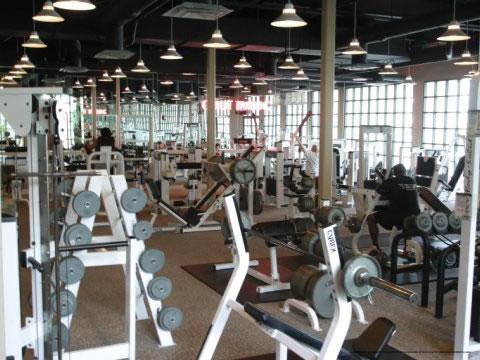 Fitness Center At The Star Island Resort In Orlando
