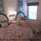 Double bed room at The Star Island Resort in Orlando Florida for a summer family vacation.