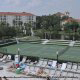 Tennis court at The Star Island Resort in Orlando Florida for a memorable last minute vacation.