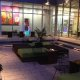 Aloft Charleston Airport courtyard