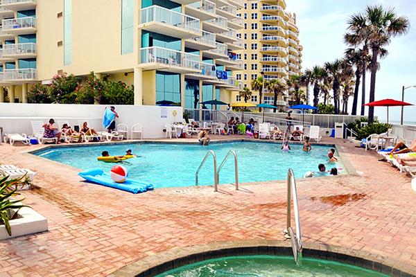Bahama House Oceanfront Pool Area
