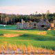 Beautiful Golf Course View at Barefoot Resort In Myrtle Beach, South Carolina.