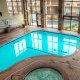 Best Western Center Pointe Inn indoor pool overview