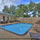 Outdoor Pool View At Best Western Plus Savannah Historic District In Savannah, GA.