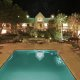 Gulfport Best Western Seaway Inn pool overview night