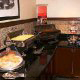 Breakfast Area Setting at the Hampton Inn Hotel in Gulfport, near Biloxi, Mississippi. This feels like home made breakfast and we hope your New Years Family Vacation is your best ever!