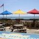 BlueWater Resort deck