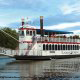 Experience Branson\'s historic Lake Taneycomo while cruising aboard Branson Landing\'s 100\' luxury yacht.