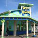 Main Entrance View of Ride the Ducks Attraction in Branson, Missouri.