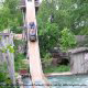 The American Plunge at Silver Dollar City in Branson, Missouri.