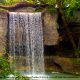 Waterfall at Silver Dollar City in Branson, Missouri.
