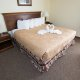 Branson Towers Hotel king bed