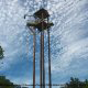 100 foot tower at Adventure Ziplines in Branson, Missouri.