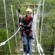 Suspension Bridge at Branson, Missouri Adventure Ziplines.