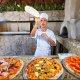 Royal Solaris Cancun Resort pizza man