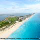Panoramic Ocean and Beach View at Villa Del Palmar Cancun Resort in Cancun, Mexico. Refresh yourself in the cool waters during your Family Summer Vacation.