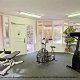 The fitness room will help you to keep your routine while on vacation at The Champions World Resort in Orlando, Florida. Great Way to stay in shape during your thanksgiving Family Vacation.