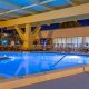 Champions World Resort indoor pool night