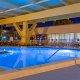 Champions World Resort indoor pool night