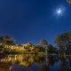 Champions World Resort lake night