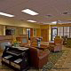 Front desk and lobby at (Charleston Best Western) Charleston, South Carolina.