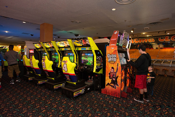 best casino arcade in las vegas