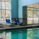 Comfort Suites indoor pool seating