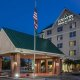 Country Inn and Suites entrance night