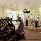 Fitness Center View at Country Inn & Suites By Carlson Orlando-Maingate at Calypso in Orlando, Florida. Great Way to stay in shape during your thanksgiving Family Vacation.
