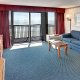 Dayton House Resort 1 king suite livingroom